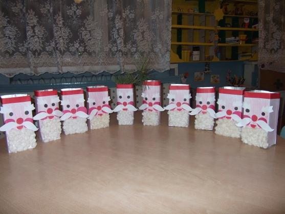 Новогодние поделки из коробков