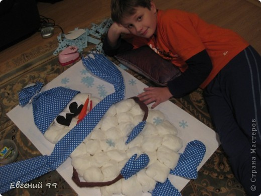 Обезьянка из салфеток своими руками